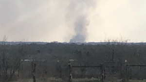 oil rig blowout Burleson County texas